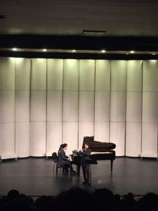 Chamber music concert, with Seiya Ueno (flute)