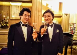 With Tatsuya Higuchi, a Japanese tenor テノールの樋口達哉さんと